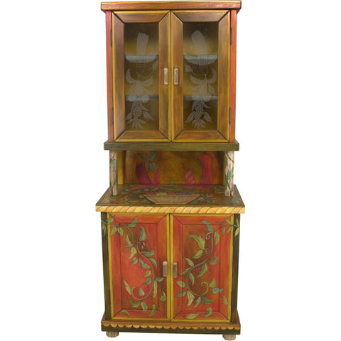 China Hutch Cabinet by Sticks CPD001-D6799, Artistic Artisan Designer Cabinets