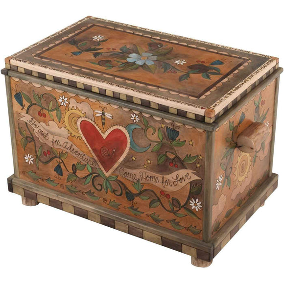 Sticks Chest Trunks CHT001 06416 Artistic Artisan Designer Chests