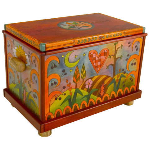 Chests, Trunks by Sticks CHT001-D71324, Artistic Artisan Designer Storage Trunks