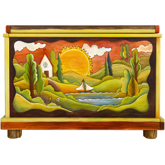 Chests, Trunks by Sticks CHT001-D71494, Artistic Artisan Designer Storage Trunks