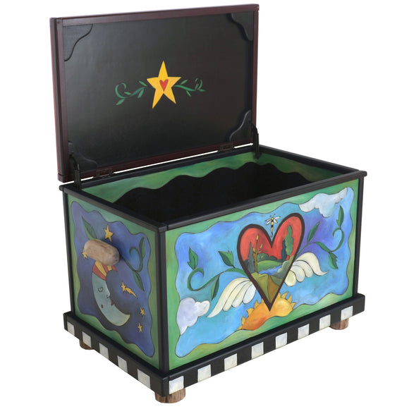 Chests, Trunks by Sticks CHT001-D75895, Artistic Artisan Designer Storage Trunks