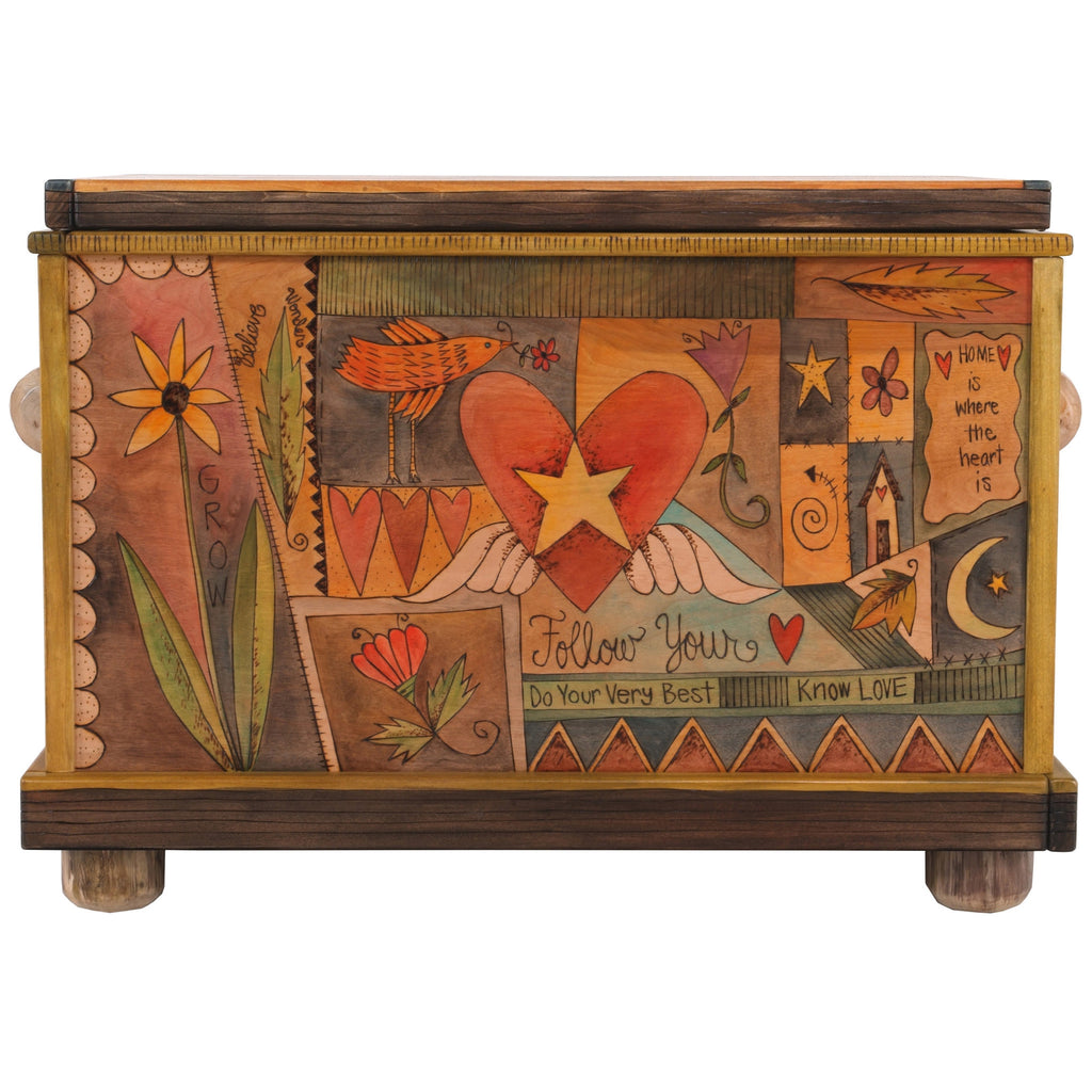 chests trunks by sticks artistic artisan designer storage trunks