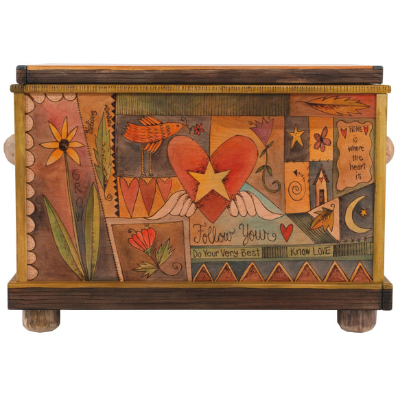Chests, Trunks by Sticks CHT001-S32864, Artistic Artisan Designer Storage Trunks