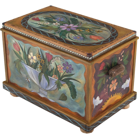 Sticks Chests, Trunks, CHT001-S33255, Artistic Artisan Designer Storage Trunks