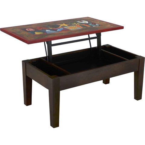 Sticks Contemporary Storage Coffee Table CBT047S 11707 Artistic Artisan Designer Coffee Tables