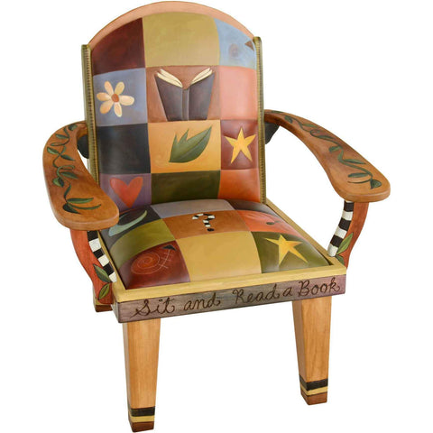 Sticks Friedrich's Chair CHR075 01714 Artistic Artisan Designer Chairs