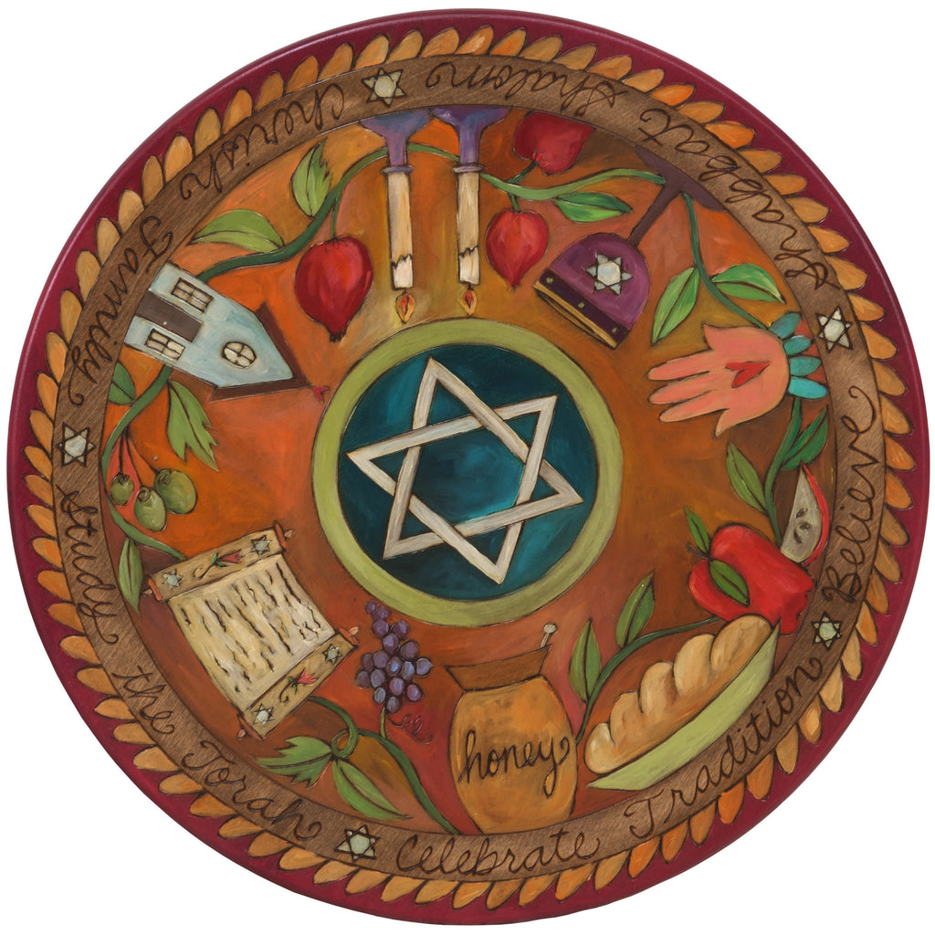 Small Lazy Susan by Sticks, Judaica, LZY001-S35862