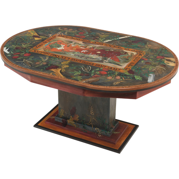 Judaic Oval Dining Table by Sticks, Judaica, DIN053-S317027