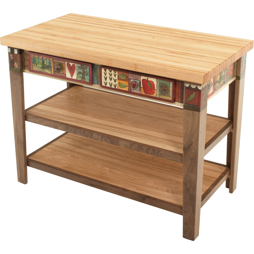 Kitchen Island Table by Sticks KITISLND001-S317829, Artistic Artisan Designer Tables