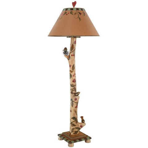 Sticks Log Floor Lamp LGF001-S311584, Artistic, Artisan, Designer Lamps