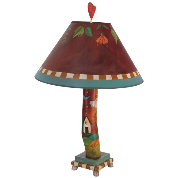 Sticks Log Table Lamp LGT001-S311844, Artistic, Artisan, Designer Lamps