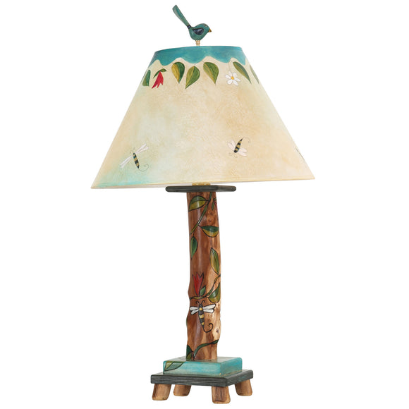 Sticks Log Table Lamp LGT001 S31757, Artistic, Artisan, Designer Lamps