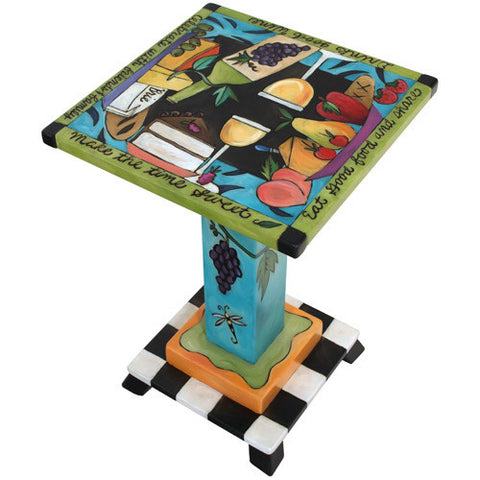 Sticks Martini Table MAR006-S315040, Artistic Artisan Designer Tables