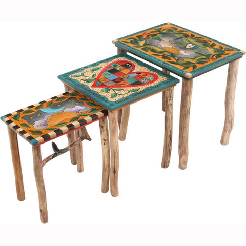 Nesting Tables by Sticks END007 S316940a