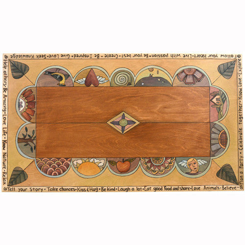 Sticks Rectangular Coffee Table CBT047 D79497, Artistic Artisan Designer Tables