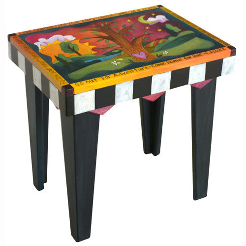 Sticks Rectangular End Table END004 D78804, Artistic Artisan Designer Tables
