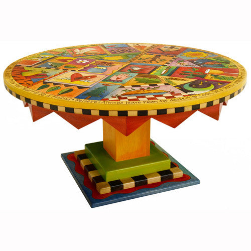 Sticks Round Coffee Table CBT032 D71183, Artistic Artisan Designer Tables