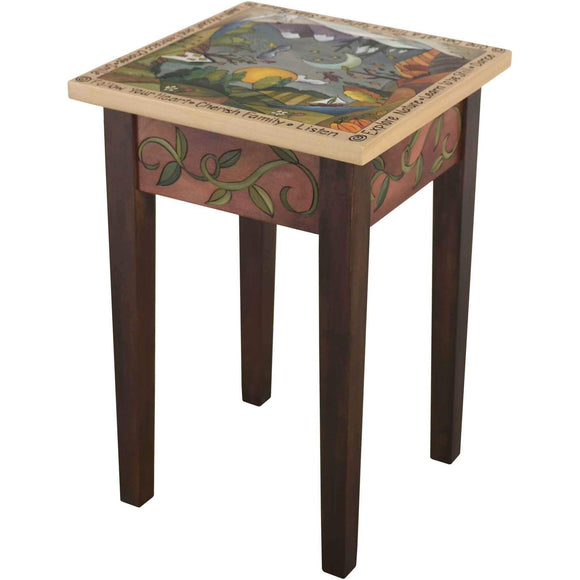 Sticks Small Square End Table END016 11344 Artistic Artisan Designer End Tables