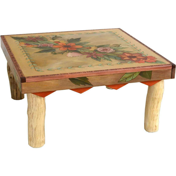 Sticks Square Coffee Table CBT008 03333 Artistic Artisan Designer Coffee Tables