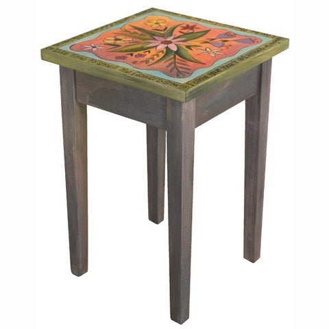 Sticks Square End Table END016 D78916, Artistic Artisan Designer Tables