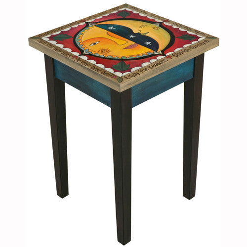 Sticks Square End Table END016 D79500, Artistic Artisan Designer Tables