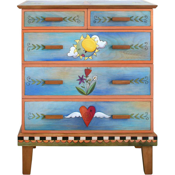Sticks Furniture Accessories Art Hand Painted Furniture And