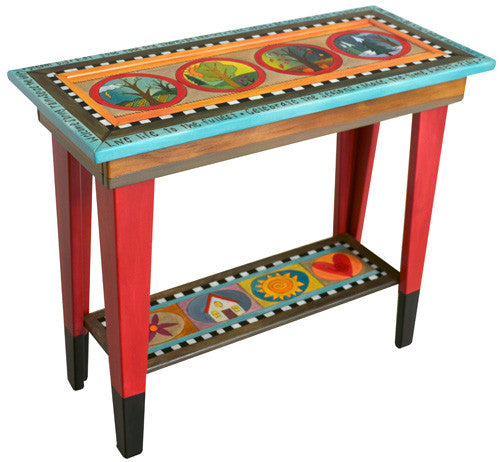 Sticks Accent Sofa Table SFA004 D78810, Artistic Artisan Designer Tables