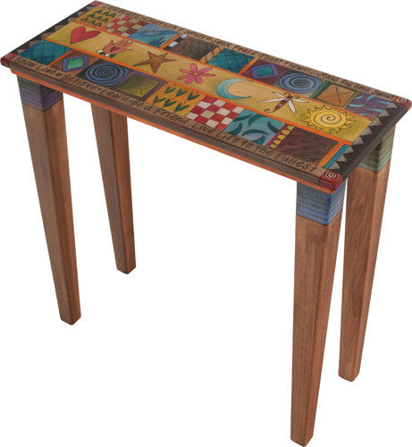Sticks Accent Sofa Table SFA030 S314530, Artistic Artisan Designer Tables