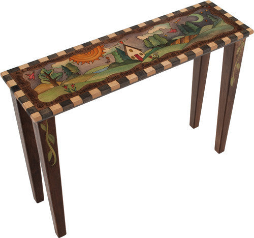 Sticks Accent Sofa Table SFA030 S314531, Artistic Artisan Designer Tables