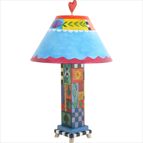 Box Table Lamp by Sticks BTL001-S317493, Artistic, Artisan, Designer Lamps