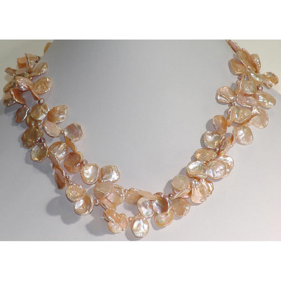 Susan Anderson Keishi Pearl Necklace 914 Handmade Designer Jewelry