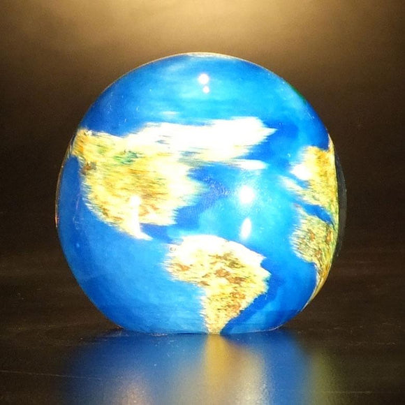 The Glass Forge World Paperweight Artistic Functional Artisan Handblown Art Glass Paperweights