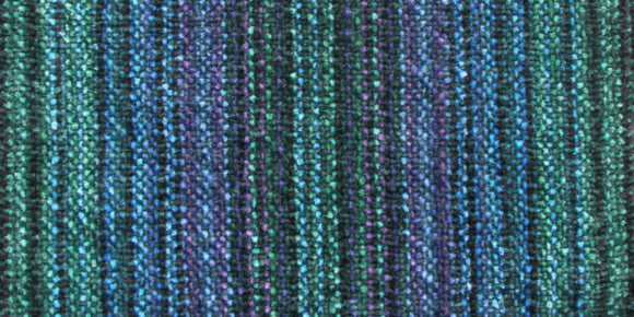 Trillium Weavers Chenille Scarf in Royal Blend Dark Green, Artistic Artisan Designer Chenille Scarves