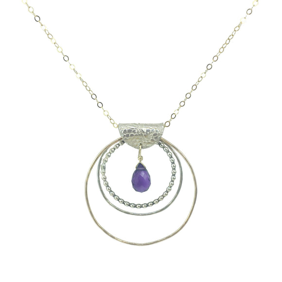 Vannucci Jewelryby Justine Amethyst Necklace N2068 AMY