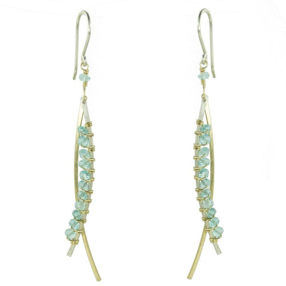 Vannucci Design by Justine Apaptite Swoop Earrings EM069
