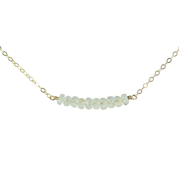 Vannucci Jewelry by Justine Chalcedony Necklace N2057