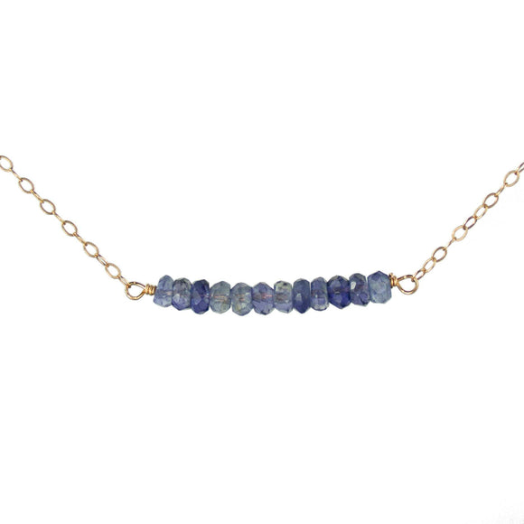 Vannucci Jewelry by Justine Iolite Necklace N2057