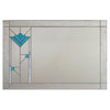 Victoria Primicias Beatrix Prairie Style Stained Glass Mirror Artistic Artisan Designer Mirrors
