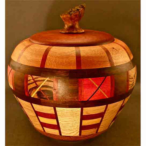 Lidded Urn 1313 by Winchester Woodworks