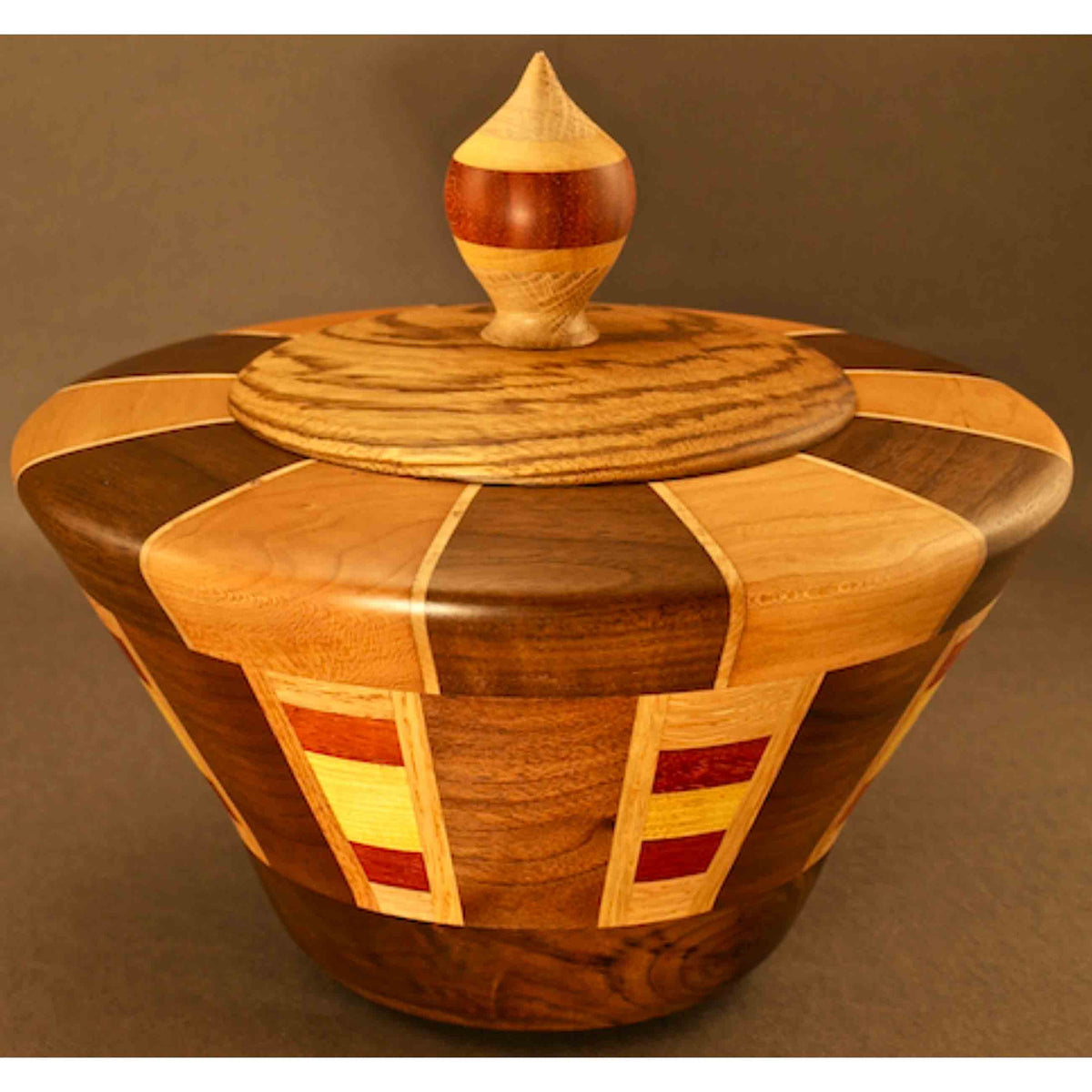 Winchester Woodworks Lidded Urn Small 1314 Artistic