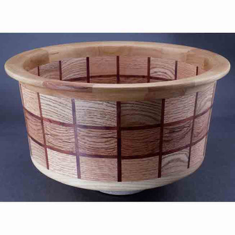 Segmented Bowl 1308 by Winchester Woodworks