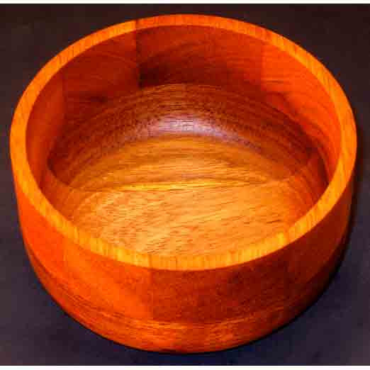 Winchester Woodworks Small Bowl 94, Artistic Artisan Wood Turned Bowls