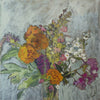Lila Bacon Floral Painting on Canvas Flower Mix 3 c-lb242