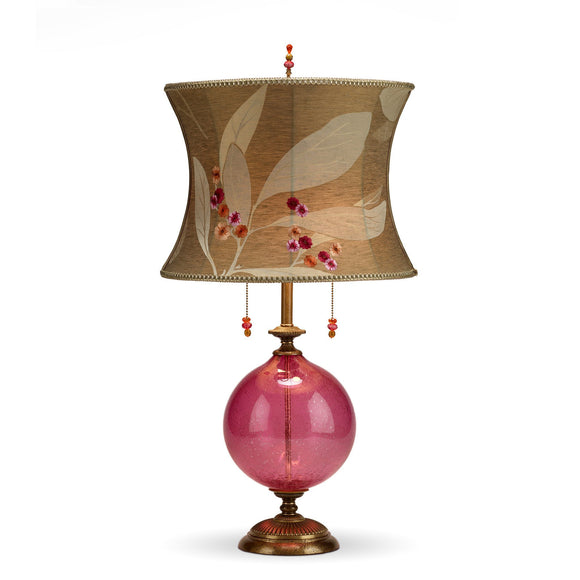 Natalia Table Rose Lamp 93RI94 by Kinzig Design