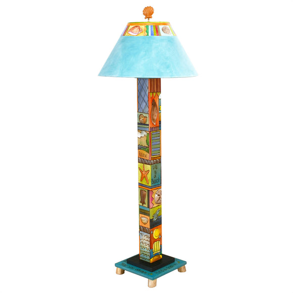 Sticks Box Floor Lamp BFL001-D74622, Artistic Artisan Designer Lamps