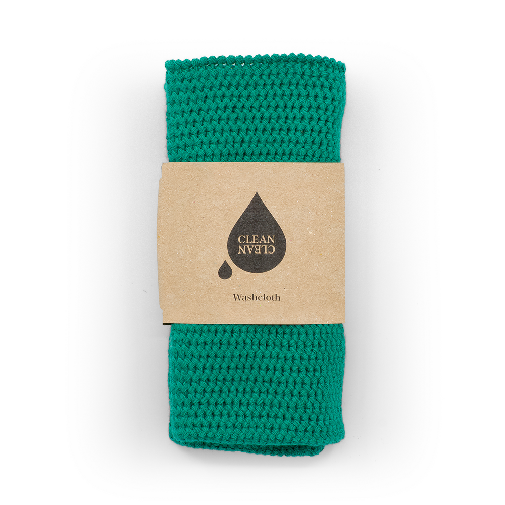 Washcloth Emerald