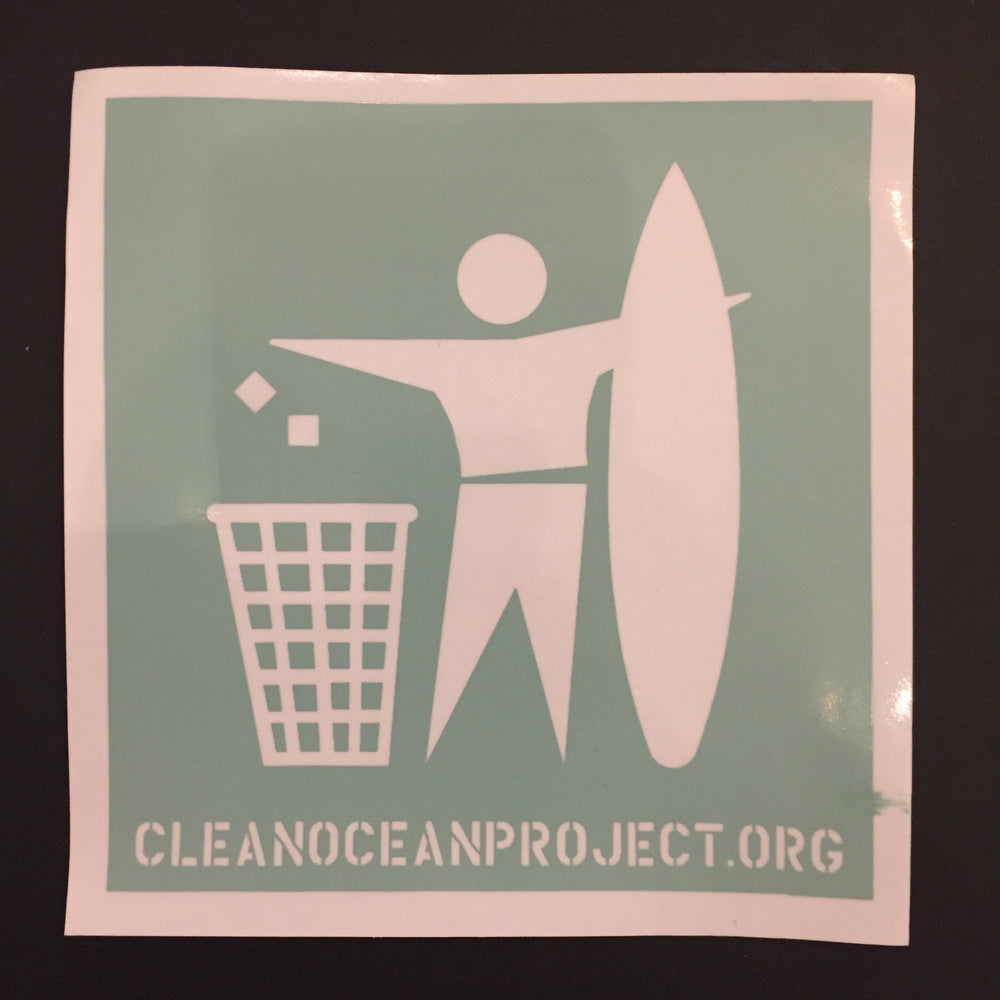 "Sticker ""Clean Ocean Project"" Large"