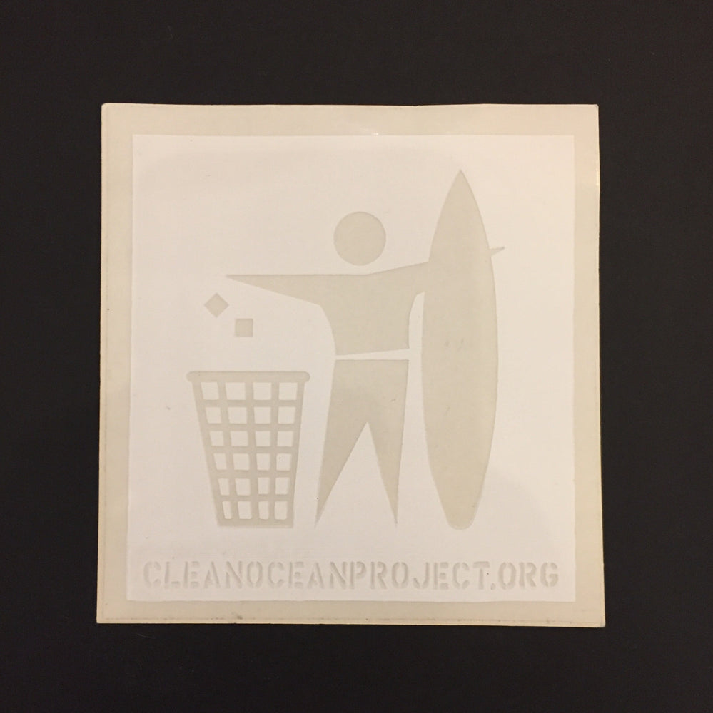 "Sticker ""Clean Ocean Project"" Small"