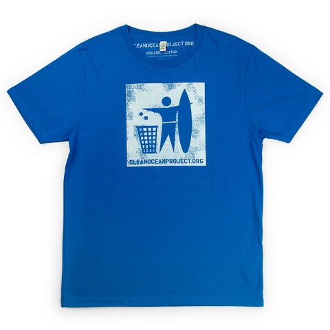 T-Shirt Man Logo blue