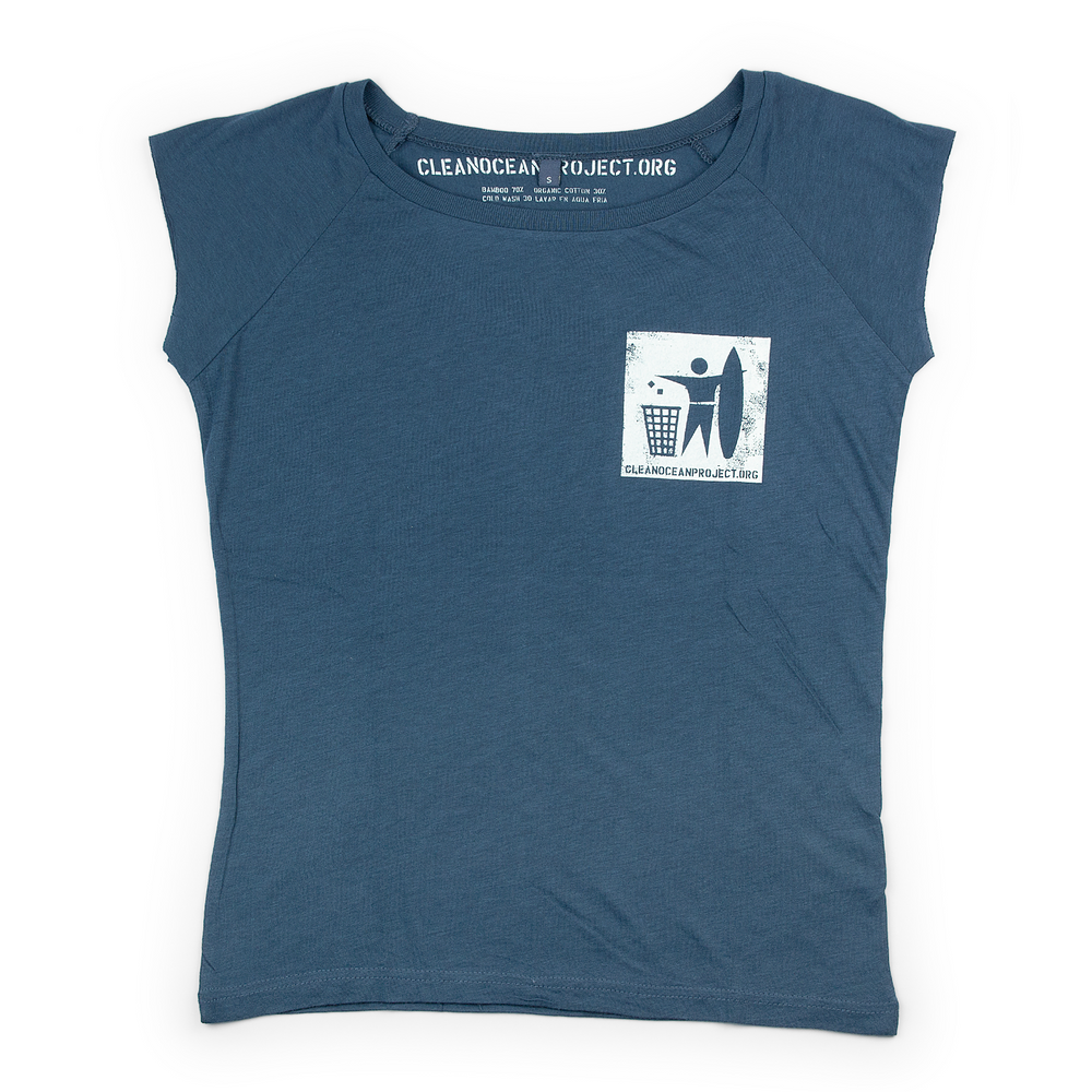 T-shirt Woman Logo small blue
